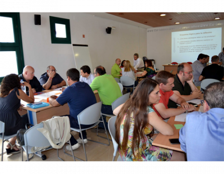 El Grupo Campo de Calatrava organiza un world café de Evaluación Intermedia de la Gobernanza de su Asociación