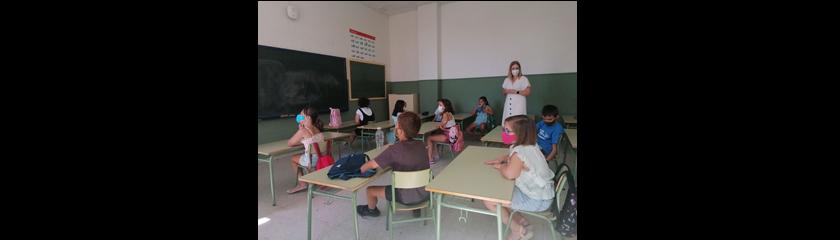 La escuela de verano arranca con casi 90 niños