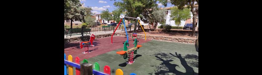 La remodelación del parque infantil de la ronda de santo Domingo ha finalizado
