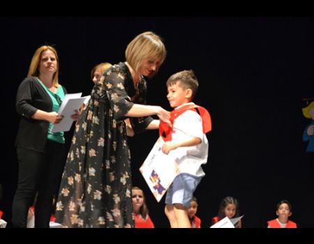 Los pequeños de Infantil de los tres colegios se gradúan