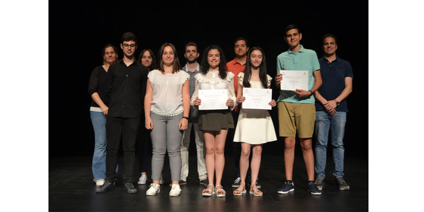 La Escuela Municipal de Música entrega los certificados a los alumnos de último curso
