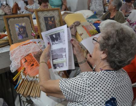 Almagro recibe a unas 300 encajeras de toda España