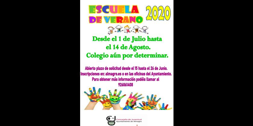 El Ayuntamiento mantiene la Escuela de Verano para conciliar la vida familiar y laboral