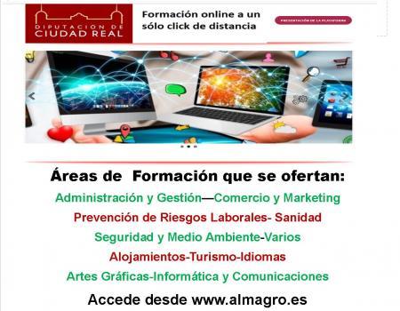 Nueva Plataforma de formación Online Red Quijote en la Universidad Popular de Almagro.