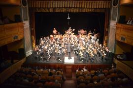 La Banda de Música de Almagro ofreció un concierto de los 80 y 90
