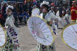 El desfile de Carnaval de Almagro aúpa a Harúspices como mejor comparsa