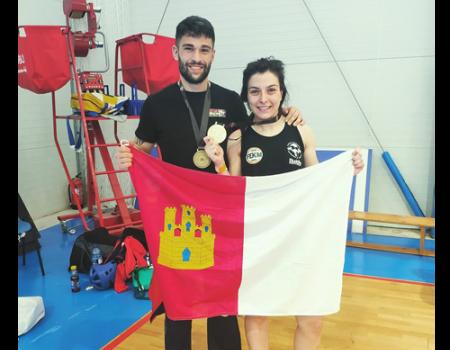 Oro para Moraga y bronce para Angel Nové en el Campeonato de España de Kick Boxing