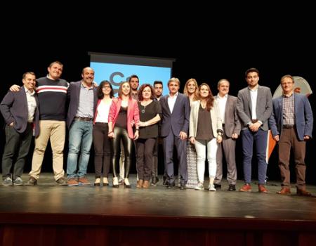 Presentación de la candidatura de Ciudadanos