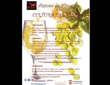 El Ateneo se suma a la semana del vino