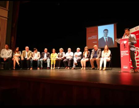 Presentación de la candidatura del Partido Socialista y charla con los vecinos de La Florida