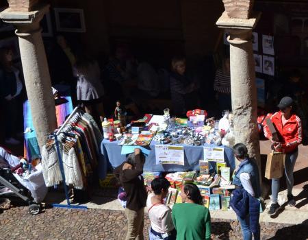 Una docena de &#x201Cmujeres con arte&#x201D exponen en Almagro este fin de semana