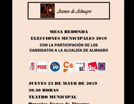 El debate de los candidatos a la Alcaldía será este jueves