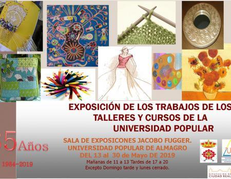 Exposición de los trabajos de los Talleres y Cursos de la Universidad Popular
