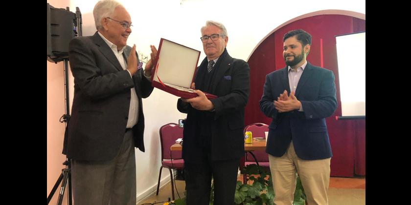 La Universidad de Harvard realiza un homenaje a Arcadio Calvo, cronista de Almagro