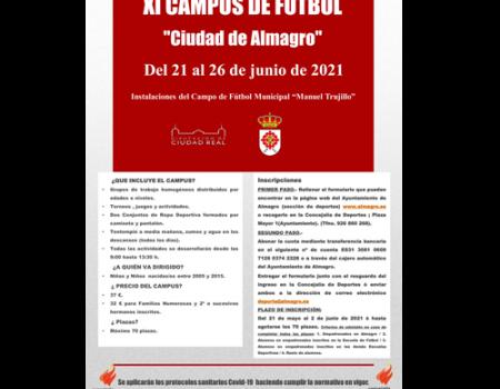 El lunes arranca la inscripción para el campus de futbol