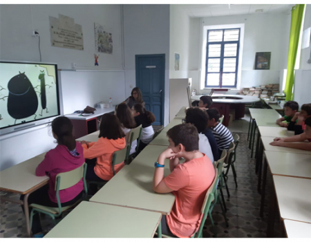 Los alumnos de 4º, 5º y 6º de Primaria del colegio Miguel de Cervantes reciben formación para prevenir el acoso escolar