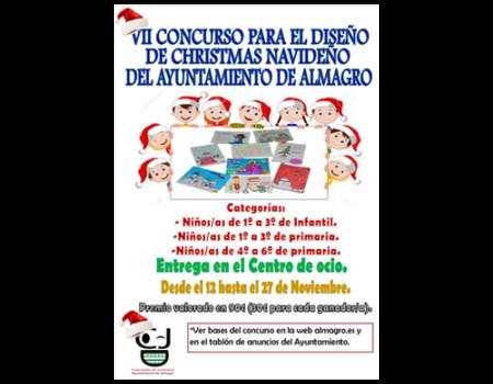 Infancia abre el plazo de presentación del concurso para el diseño de felicitación navideña el 12 de noviembre