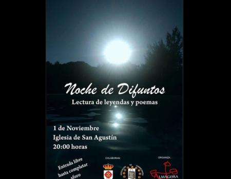 Almágora invita por cuarto año a recordar la Noche de Difuntos con lectura de poemas, cuentos y leyendas