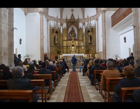 La Junta de Hermandades de Almagro lamenta la desaparición del Cristo de las Aguas de la iglesia de los Dominicos