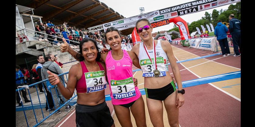 Gemma Arenas, campeona de España absoluta de Maratón