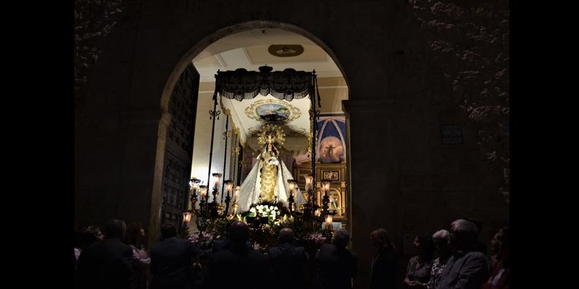 La Patrona volverá a procesionar el próximo domingo para conmemorar el 90 aniversario de su coronación canónica