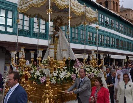 Almagro conmemora los 90 años de la coronación canónica de su Patrona