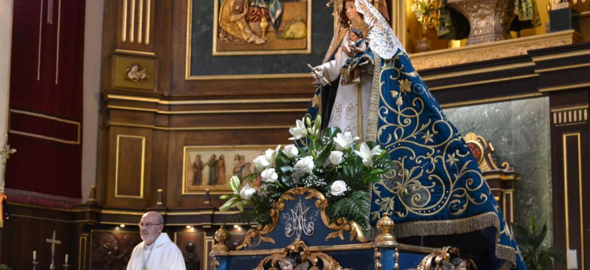La Virgen de las Nieves regresa a Almagro