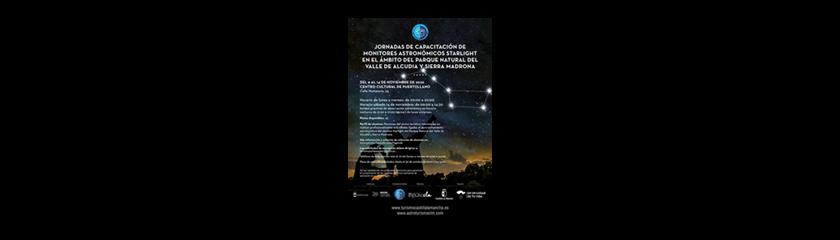 El SICTED, Destino Almagro, informa del curso de formación para monitores de observación astronómica