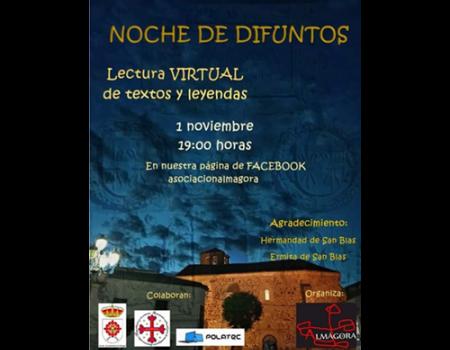 Almágora celebrará la Noche de los Difuntos virtual
