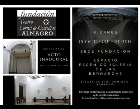 La Fundación Teatro Corral de Comedias de Almagro se presenta este viernes