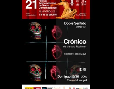 Seis propuestas escénicas llegan este puente a Almagro de la mano del Festival Iberoamericano de Teatro Contemporáneo
