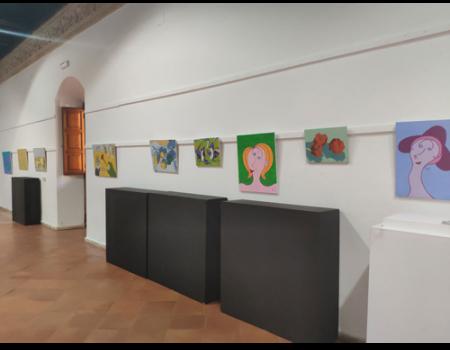 El artista autodidacta Carlos Ignacio Guerra Donoso expone sus obras en la Universidad Popular