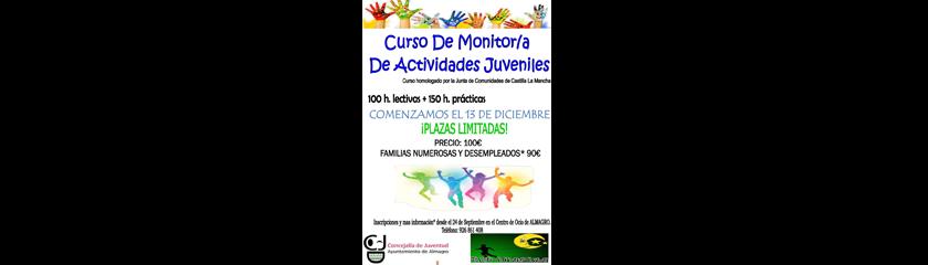 La Concejalía de Juventud organiza un nuevo curso de monitor de actividades juveniles
