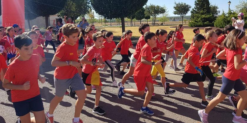 Más de 1.000 alumnos de Almagro se han sumado a la iniciativa europea para promover el deporte y los hábitos saludables