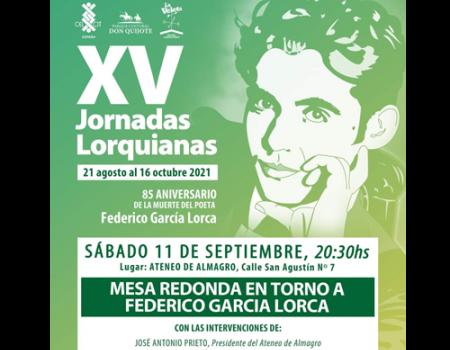 El Celcit organiza una mesa redonda en torno a Federico García Lorca en el Ateneo