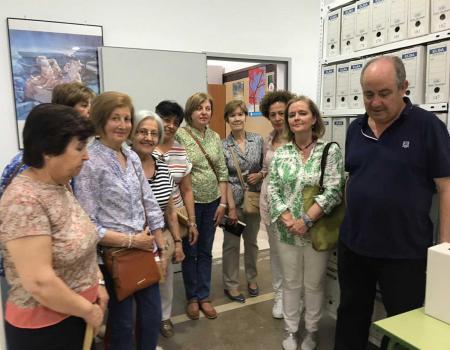 El Club de Lectura de la Biblioteca visitó el Archivo Histórico de Almagro