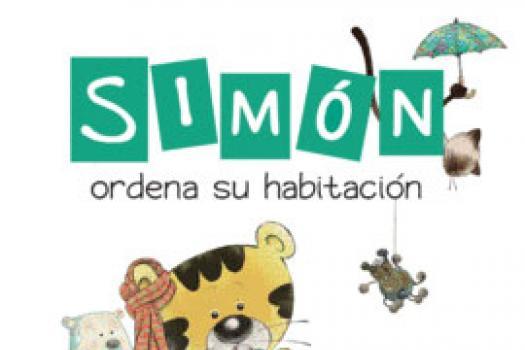 Simón ordena su habitación