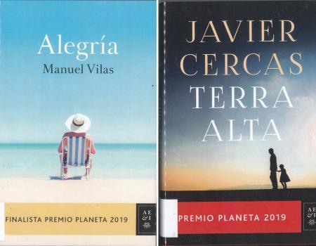 PREMIOS PLANETA 2019 EN LA BIBLIOTECA