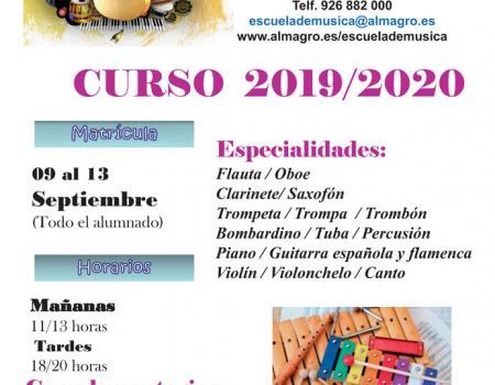 Horarios Colectivos Curso 2019/2020