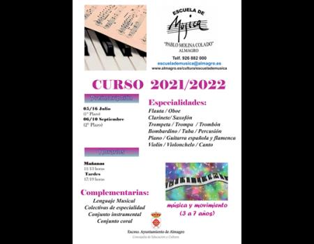 Horarios curso 2021/22