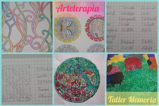 Taller Memoria - Arteterapia