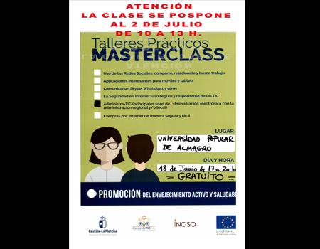 Ampliación Talleres Prácticos MasterClass