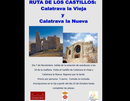 La UP organiza una ruta de castillos y visita a una bodega