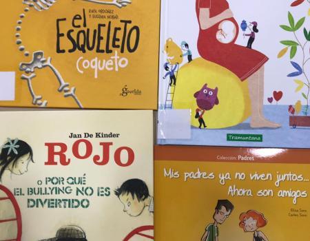 Más libros en la biblioteca infantil