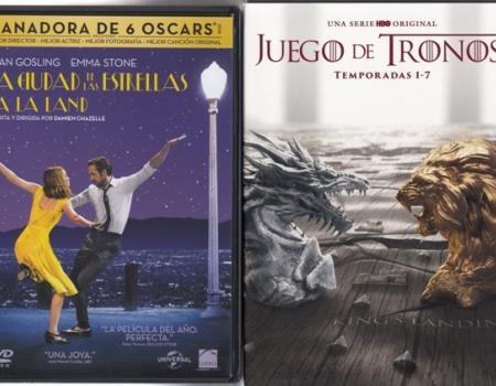 Novedades de la Biblioteca en DVD