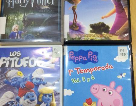 Nuevos títulos en DVD para niños