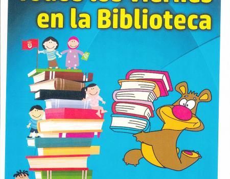 CUENTACUENTOS EN LA BIBLIOTECA