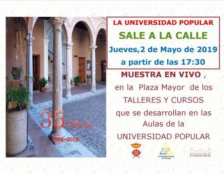 La Universidad Popular sale a la calle