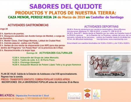 Sabores del Quijote - Castellar de Santiago