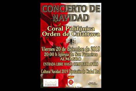 Concierto de Navidad de la Coral Polifónica Orden de Calatrava